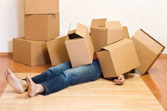 Robinson's Moving Service offers Packing Services for your move.